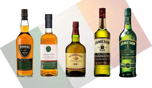 Irish Whiskey Lineup